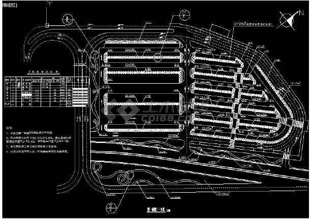 某世园会主题外环境园林绿化及施工图-图3