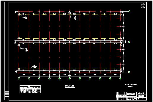 门式刚架轻型钢结构工业厂房设计(含图纸、计算书)图片3