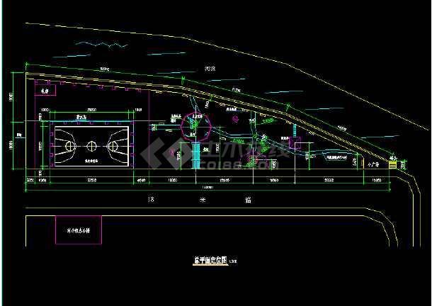 某地小公园园林绿化及施工图(全套)-图1