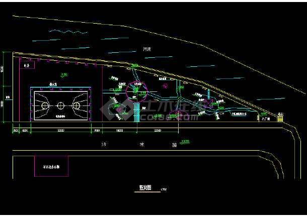 某地小公园园林绿化及施工图(全套)-图3