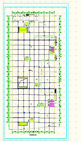 某商场附带地下二层停车场建筑施工图图片3