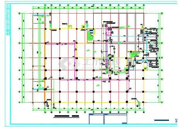某商业用房及农民拆迁安置房给排水消防设计详图-图1