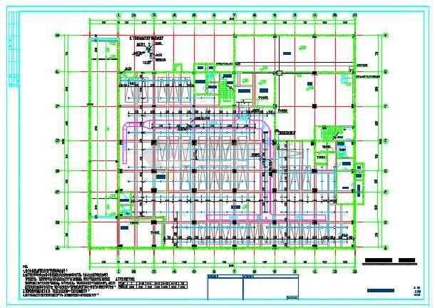 某商业用房及农民拆迁安置房给排水消防设计详图-图2
