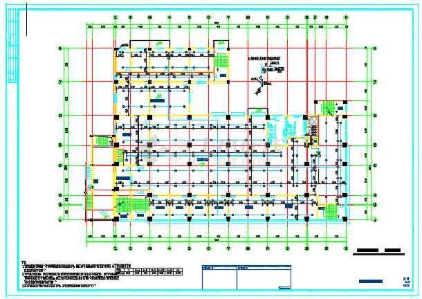 某商业用房及农民拆迁安置房给排水消防设计详图-图3