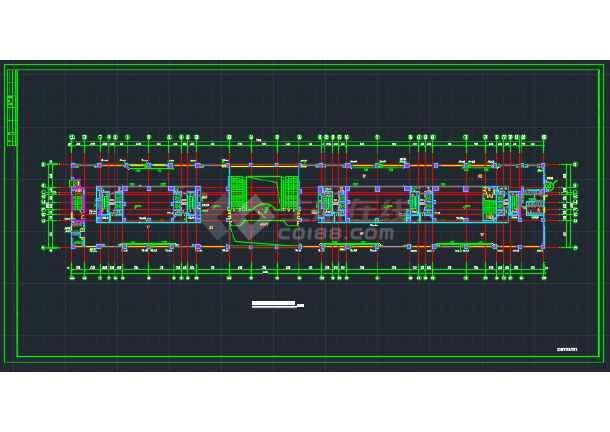 江西嘉南美地某办公楼给排水设计图-图2
