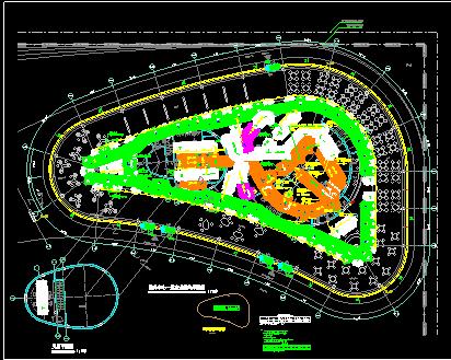 服务中心VRV空调通风防排烟系统设计施工图(含负荷计算、目录、图例、说明、设备表)图片2