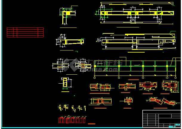某石门泵站全套详细图纸(共20张)-图2