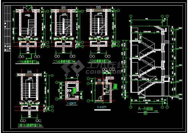 某一座特色别墅的CAD设计方案图纸-图2