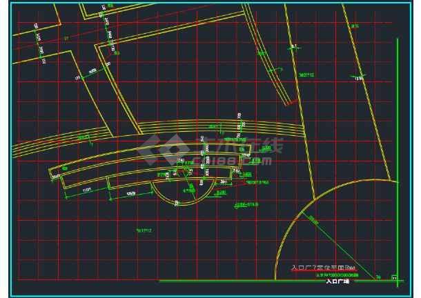 某城市雕塑休闲城市广场建筑工程设计详图-图2