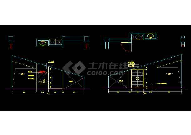 某地比较详细的外贸办公楼建筑图纸-图1