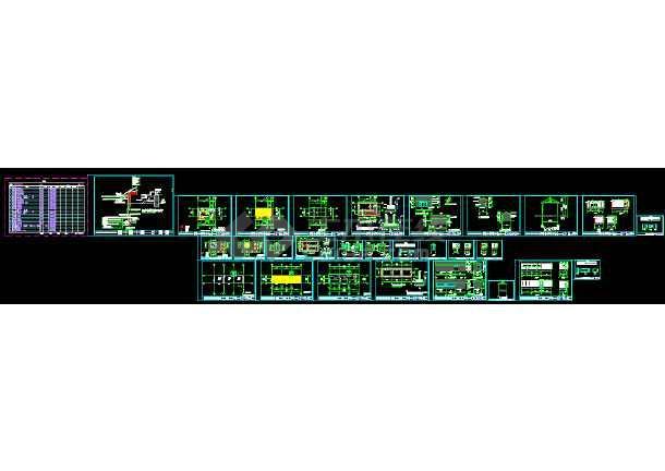 某地一套典型木屋建筑施工图(含电气)-图2