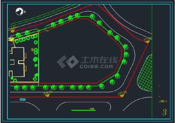 高层办公综合楼建筑工程设计方案图纸-图2