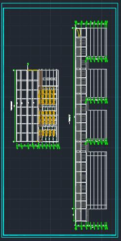某商场带地下二层停车场建筑施工图图片2