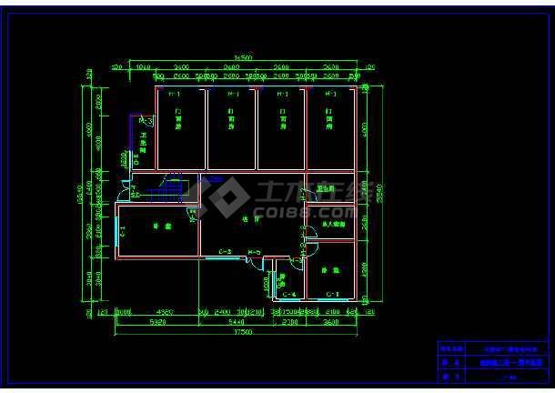 一套农材住宅建筑施工图纸(含设计说明)-图1
