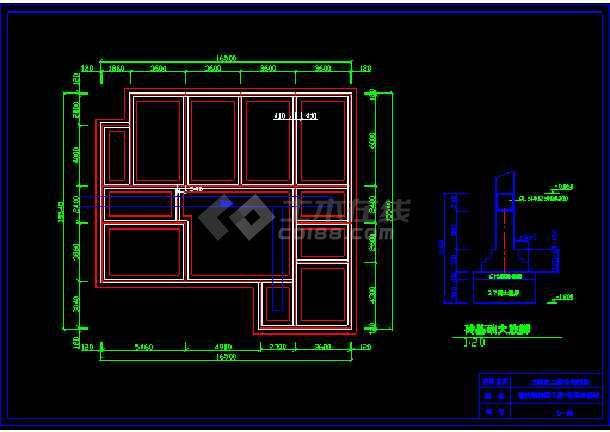 一套农材住宅建筑施工图纸(含设计说明)-图2