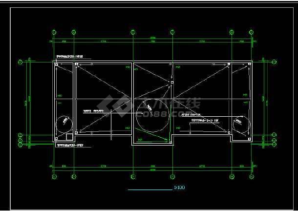 渡假村建筑设计与施工全套CAD图纸-图1