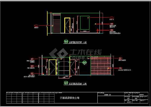 高档别墅现代风格装修施工图(含效果)-图2