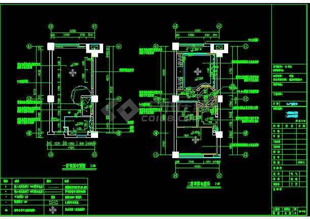 单身公寓建筑施工图加效果图方案图纸-图1