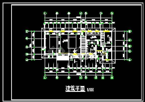 某中转站的全套cad设计施工详图-图1