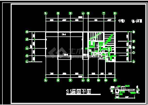 某中转站的全套cad设计施工详图-图2
