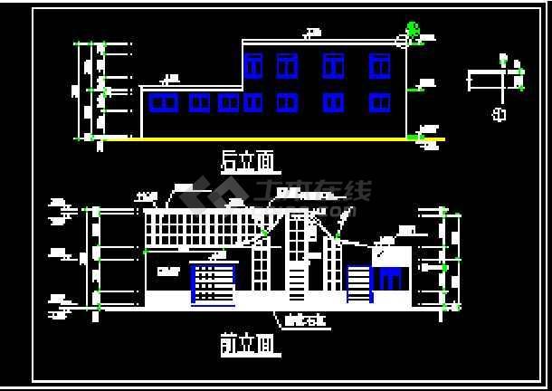 某中转站的全套cad设计施工详图-图3