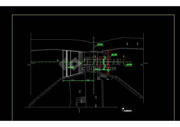 某地老闸加固水利工程设计图(含设计说明)-图2