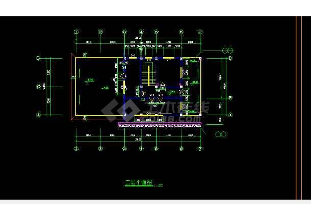 深圳某公厕垃圾站设计全套CAD图纸-图1