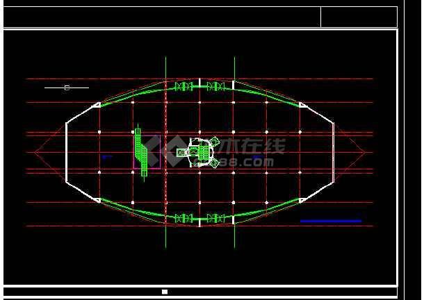 观光塔设计方案与施工全套CAD图纸-图1