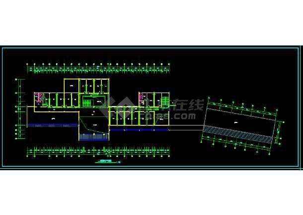 某服务楼电气施工图(含设计说明)-图2