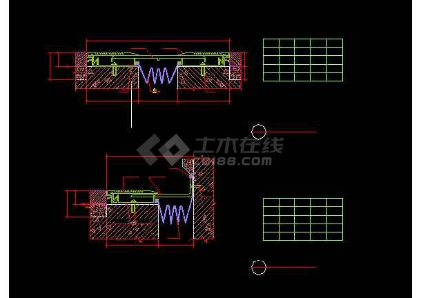 最全的各种类型变形缝构造设计详细图纸方案-图3