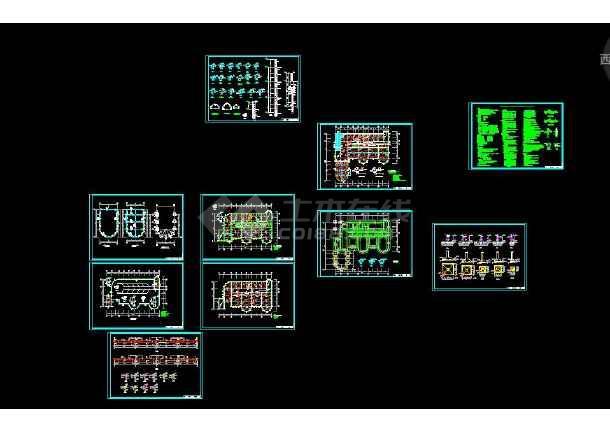 点击查看【独家整合】幼儿园各式风格建筑施工图(共50套)第1张大图