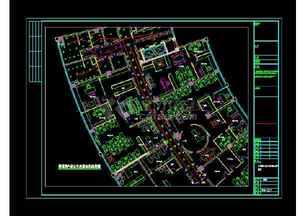 某办公大楼公共部分电气图纸(含设计说明)-图1