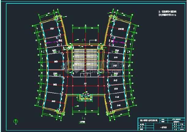【整合】大学教学楼建筑设计施工图纸(共35套)-图3