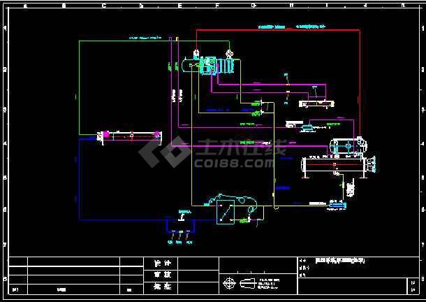 点击查看HSXL-U型干式 满液式 降膜式制冷系统原理图第1张大图