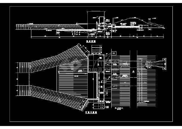 某地小型电力排灌站电气图纸(共1张)-图一