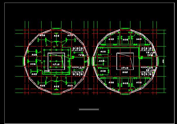 某地三层办公楼电气设计图(含设计说明)图片3