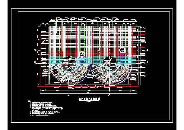 某地大型电站蜗壳电气图纸(共6张)-图1