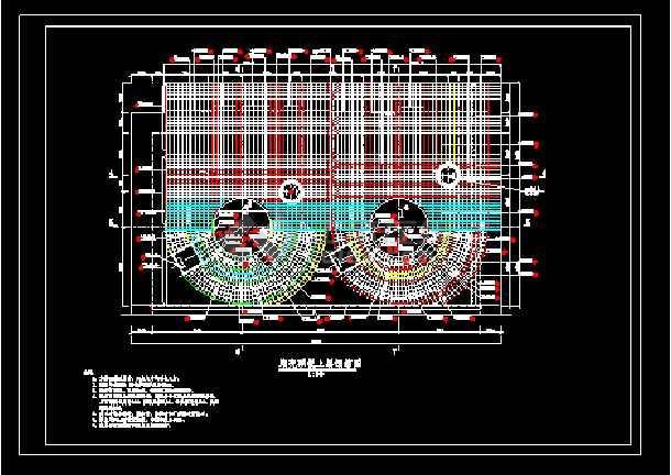 某地大型电站蜗壳电气图纸(共6张)-图2