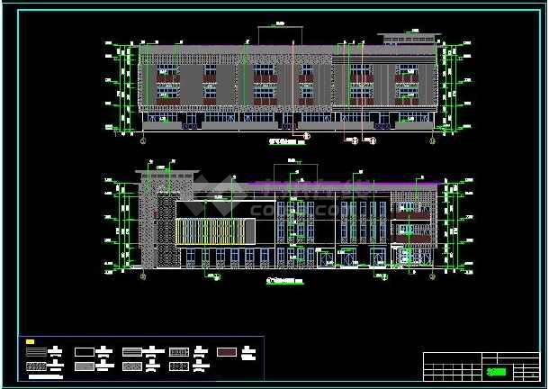 【独家整合】幼儿园建筑常见结构设计施工图(共50套)-图3