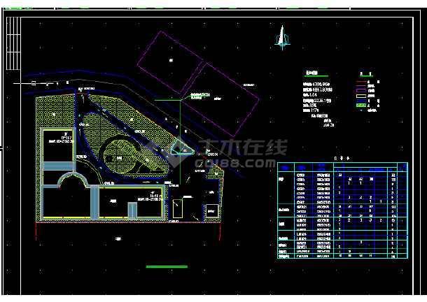 一套宾馆全套建筑施工CAD设计图纸方案-图1