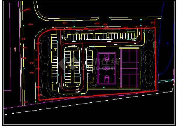 公安分局业务用房南面地块景观提升工程-图2