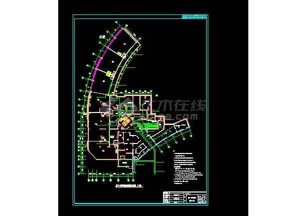 某地小型工程平战结合配电电气图纸-图1