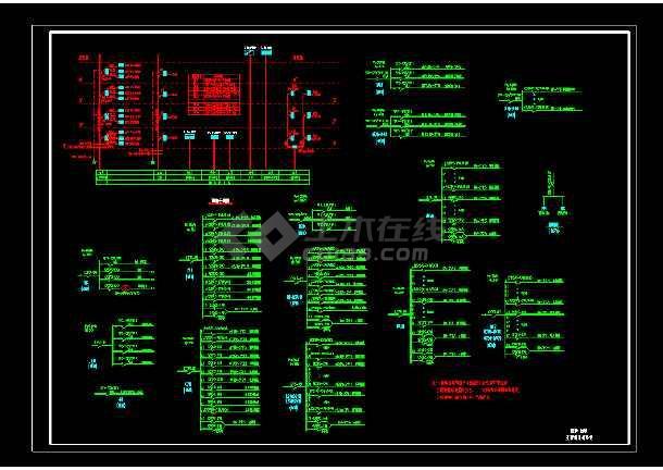 某公司10KV配电系统电气图纸(共4张)-图1