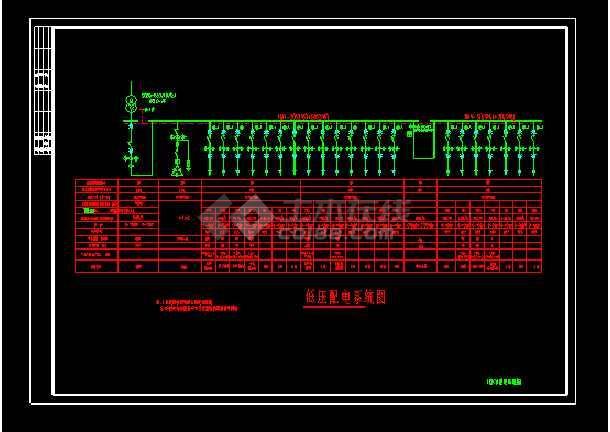 某公司10KV配电系统电气图纸(共4张)-图2