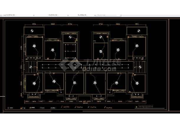 酒店办公楼建筑施工全套CAD设计图纸-图2