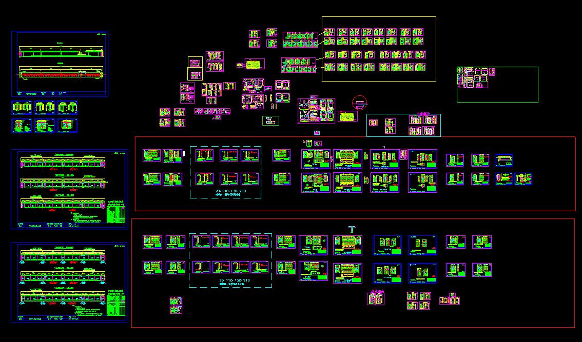 一套完整的30MT梁结构图,模板图图片1