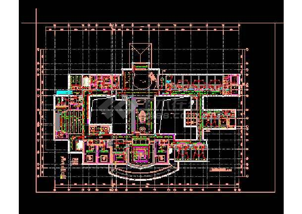 某会所照明电气图纸(含设计说明)-图1