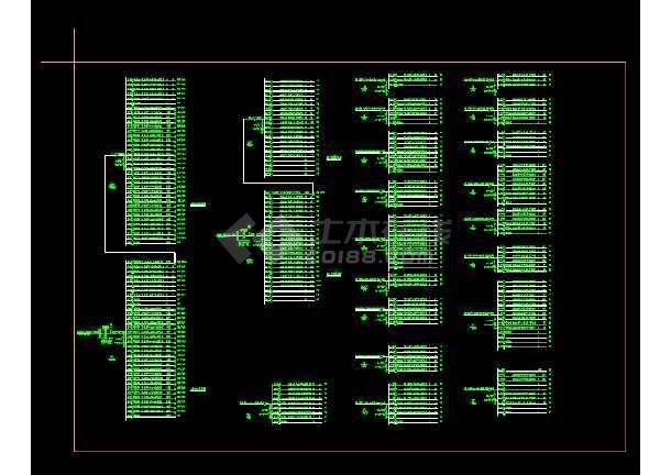 某会所照明电气图纸(含设计说明)-图2