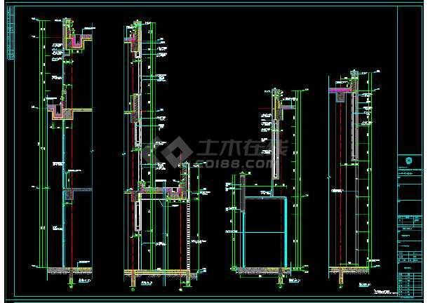 厂房 4S店 高低跨多 基础 结构 梁板施工图-图3