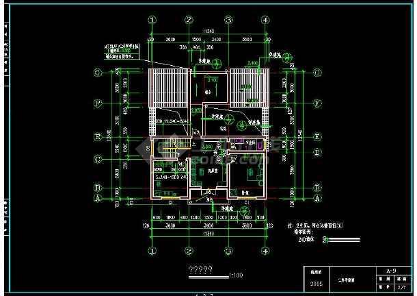 新农村建设农民住宅设计图纸(含设计说明)-图1
